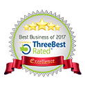 RATED BEST BUSINESS OF 2017