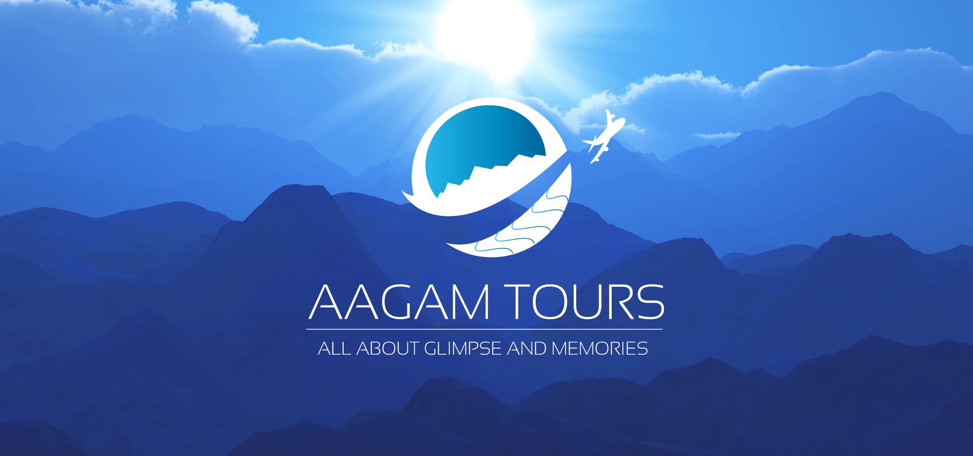 Branding for Aagam Tours