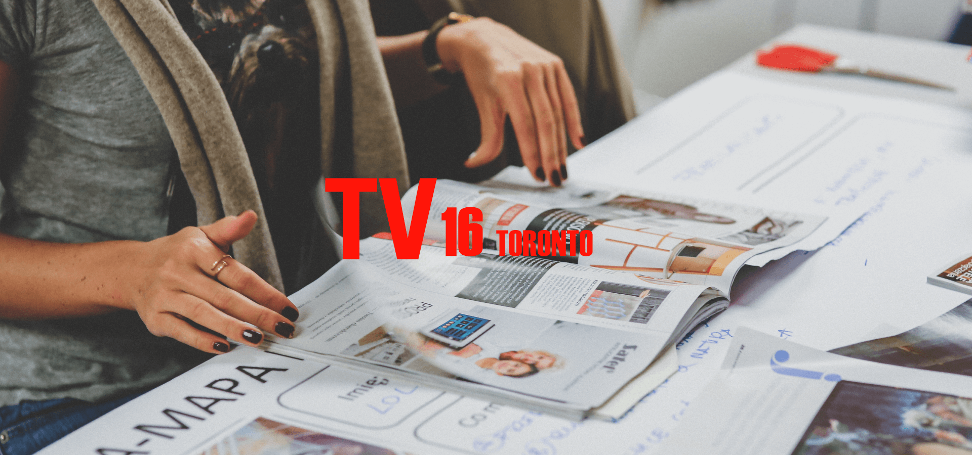 Web Design for Tv 16 Toronto