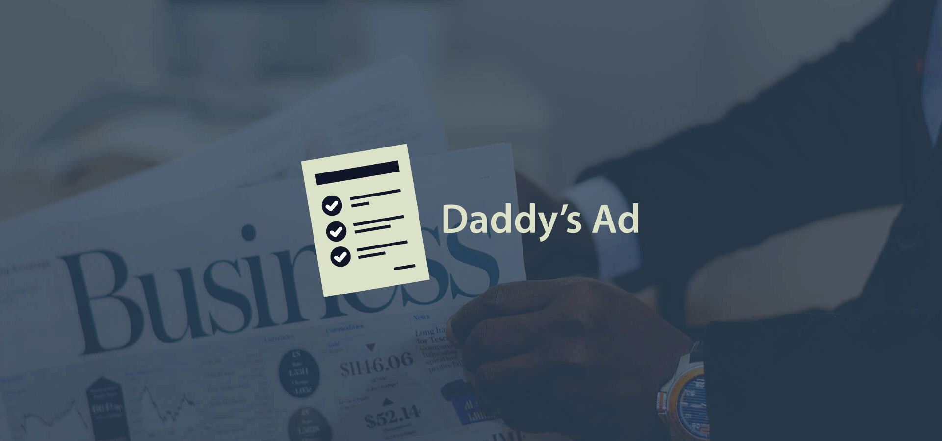 Daddy's Ad