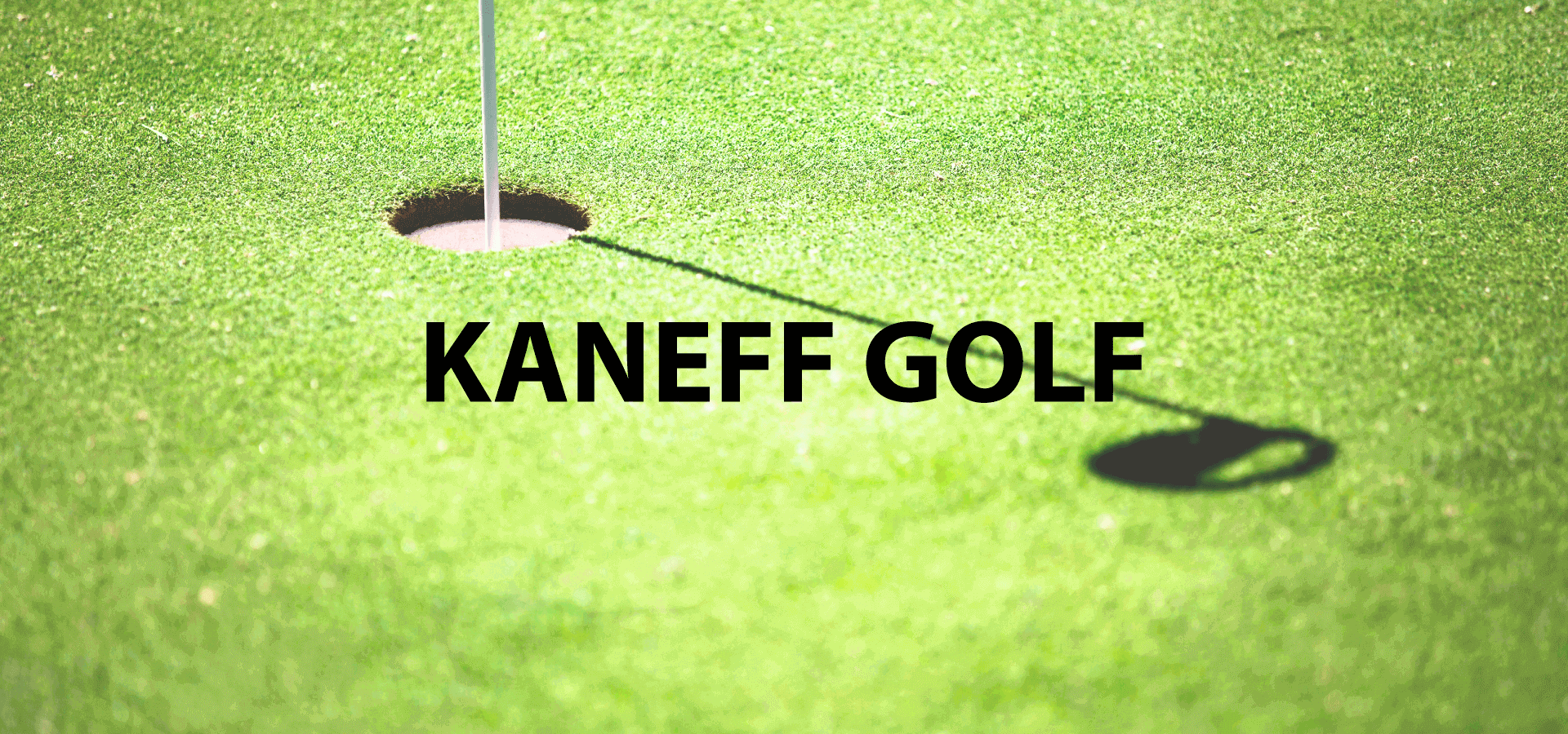 Web Design for Kaneff Golf